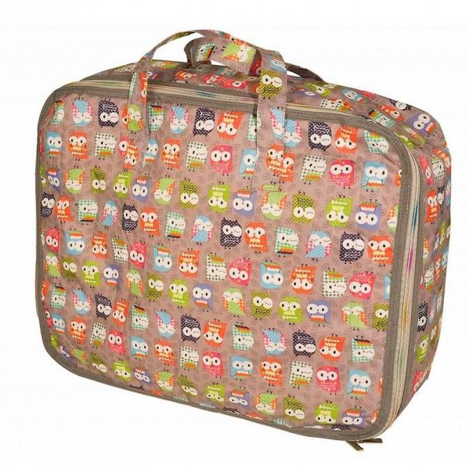 Set maleta Buhos gris