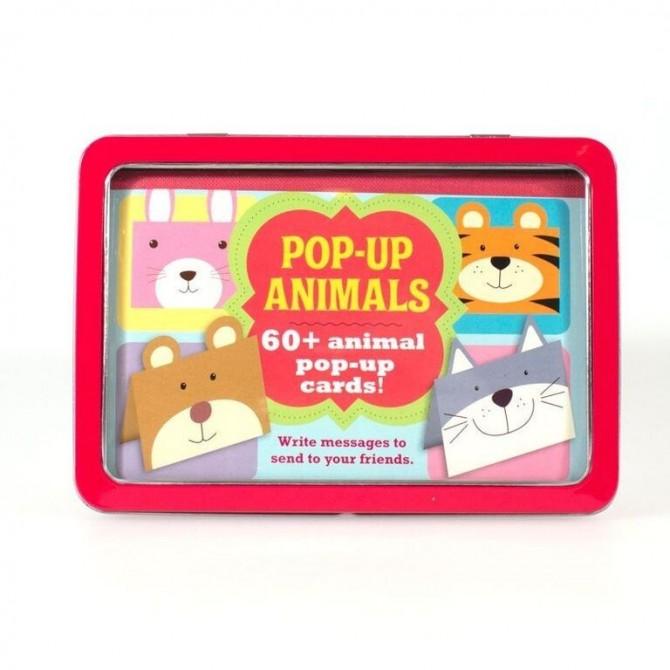 Juguetes para niños Lata Pop-up Animals