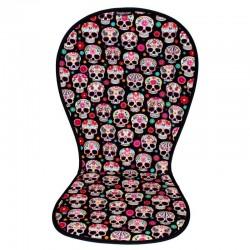 Colchoneta Paisley Skulls