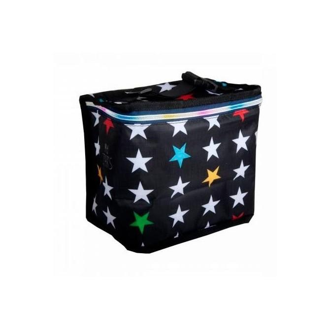 Nevera infantil portatil My bags Estrellas fondo negro