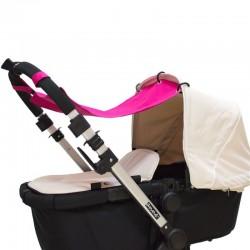 Cortina para el carro bebé - color liso