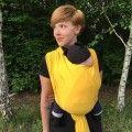 Stretchy Babywrap Yellow