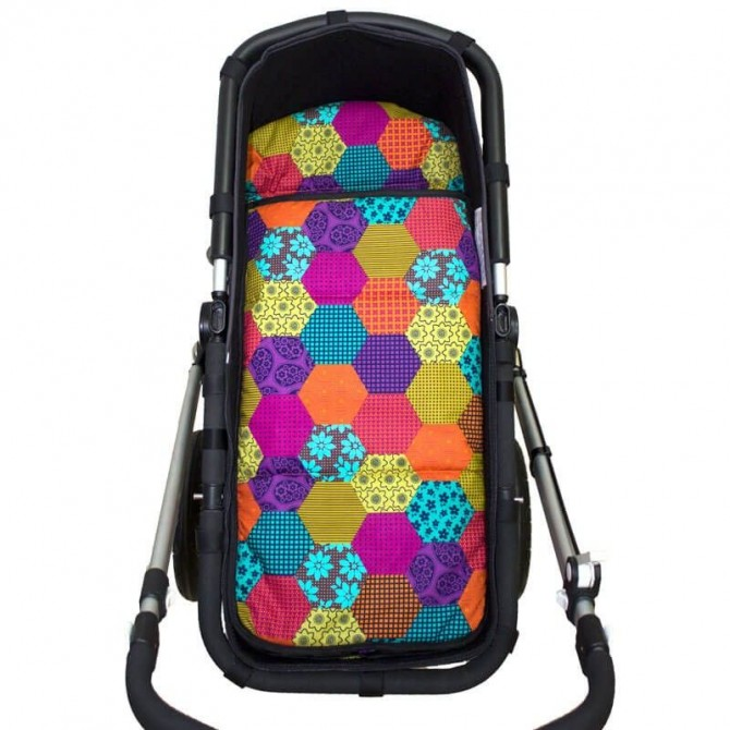 Desing your Carrycot summer footmuff.