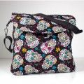 Messenger diaper bag Folk Skull