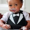 Silicon Baby bib lookin-dapper