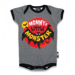 """Body bebe gracioso """"mommy´s little monster"""""""