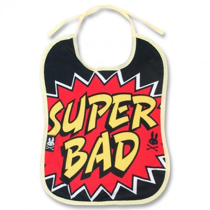 """Babero bebé """"super bad"""""""