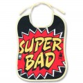 """Bavoir bébé """"super bad"""""""