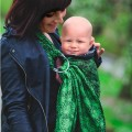 Baby ring sling Spring Charm by littlefrog