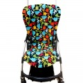 Seat liner for Bugaboo Bee - dinosaurs