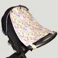 Stroller curtain - feathers