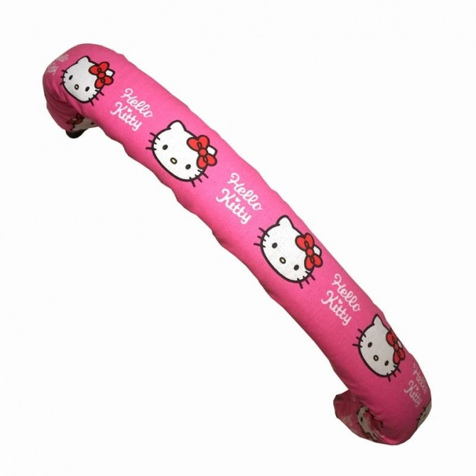 Reposabrazos rosa Hello Kitty