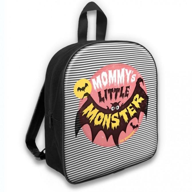 Mochila para bebé Mommy's little monster