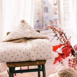 Chancelière polaire sweet dreams pour nacelle ou siège auto