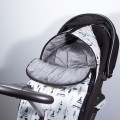 Footmuff for Stokke stroller - feathers and tepees