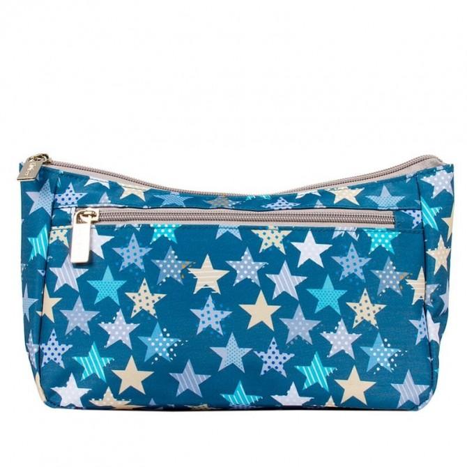 Baby vanity bag stars on white Mybags
