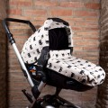 Jane Matrix pushchair canopy and carrycot cover - batman
