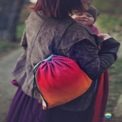 Baby wrap Carrier Bag Ammolite In Love