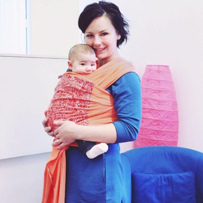 Stretchy Baby wrap Istambul
