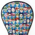 Padded seat liner for stroller - skulls and Fridas