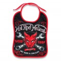 Baby bib - hot rod hellcat