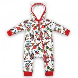 Pijama bebe con orejitas - tattoo shope