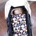 Winter carrycot footmuff Jane Micro - choose the fabric