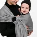 Porte bébé ring sling Moonlight par Lililiputi