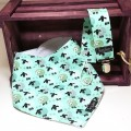 Present for newborn - bib & pacifier holder - sheeps