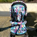 Baby stroller seat liner for Jane Rider - choose the fabric