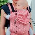 Porte-bébé physiologique - red cube
