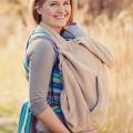 Cobertor de porteo beige - Babywarn