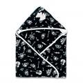Hooded baby blanket Rockabilly