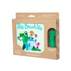 Chomps the Dino and the Brushies book Pack