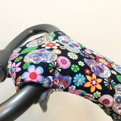 Winter gloves for baby strollers - plucked