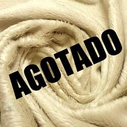 Pelo blanco beige