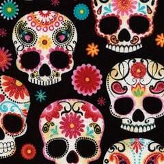 Tela 351 Paisley Skulls