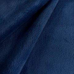 Tela de pelo azul oscuro