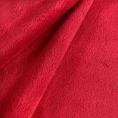 Tela de pelo rojo